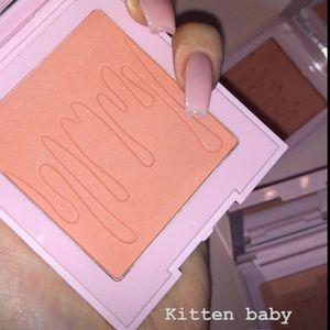 "💗New-Kylie Cosmetics ""Kitten Baby"" Blush💗"
